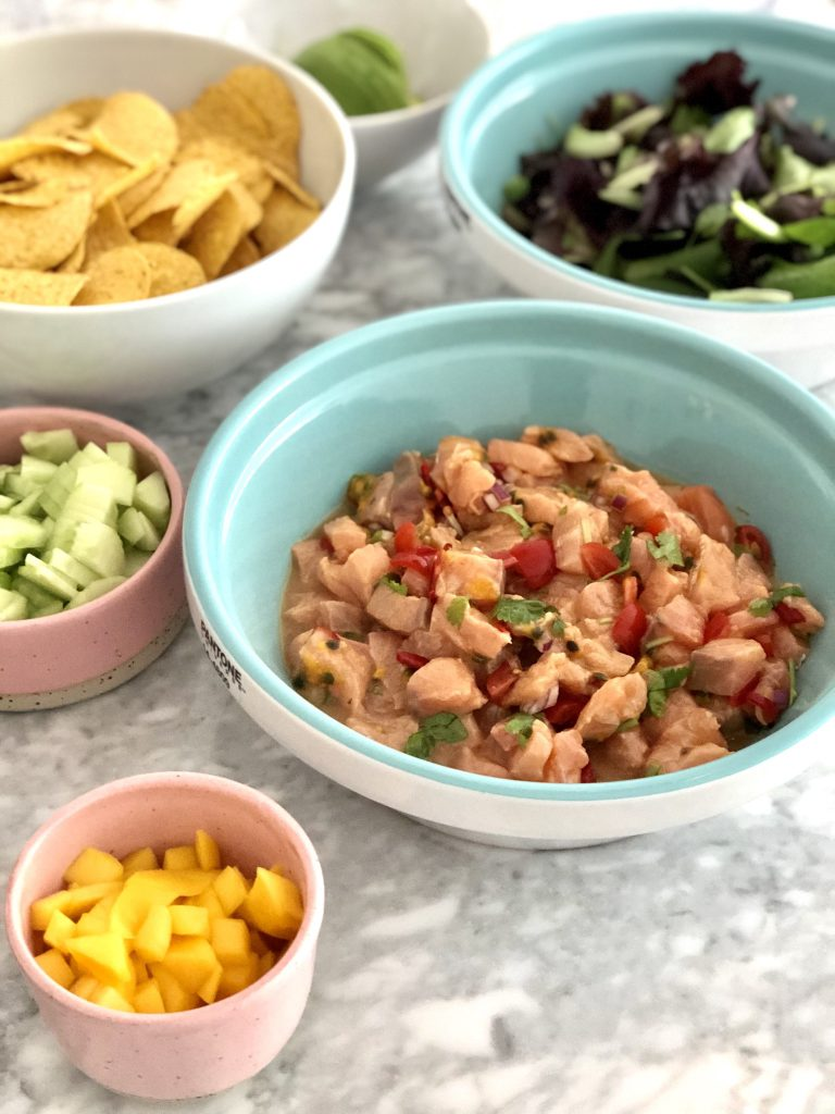 Zomers receptje: ceviche met zalm & passievrucht 'the Mexican Way'