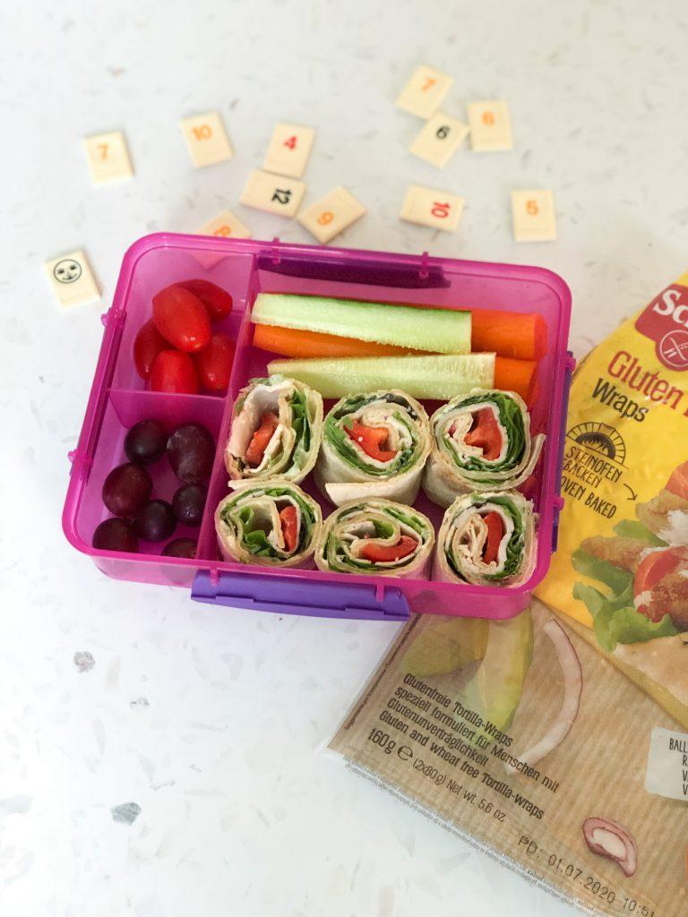 wrap in de lunchbox