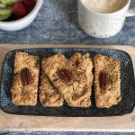 glutenvrije havermoutrepen - snelle ontbijtreep