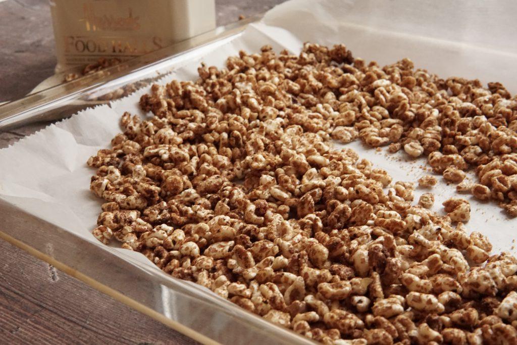 gepoft ontbijtje homemade glutenvrije smacks