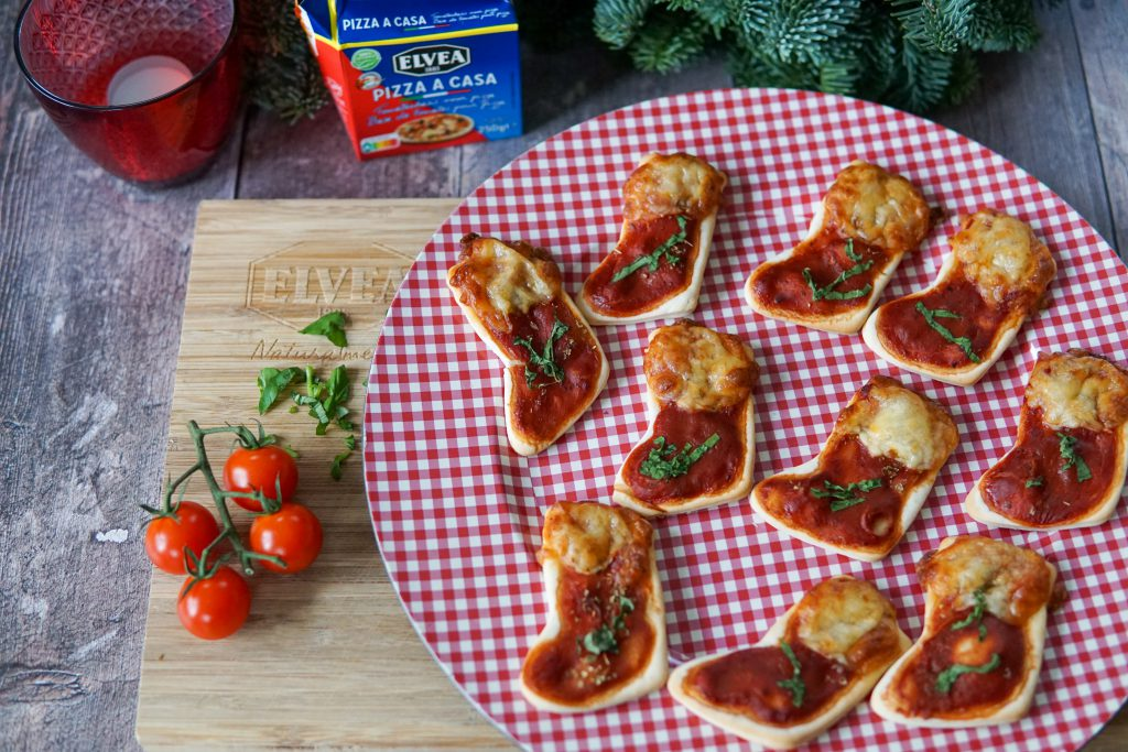 mini kerstpizza's - glutenvrij