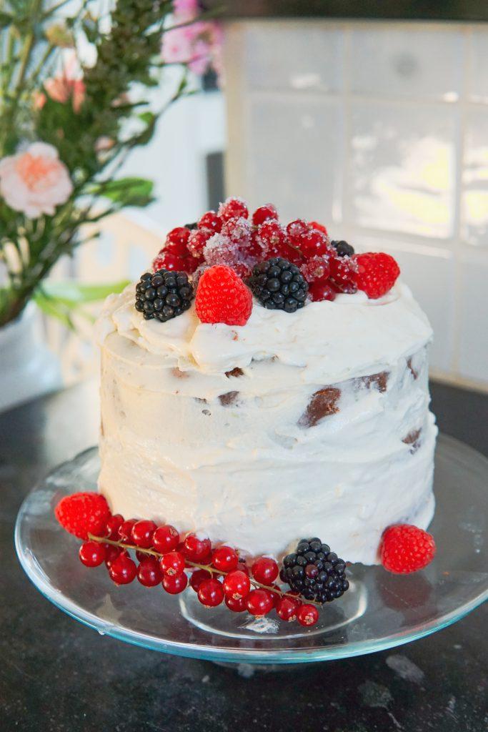 glutenfree naked cake glutenvrije cake