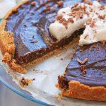 tofu chocolate cheesecake glutenfree