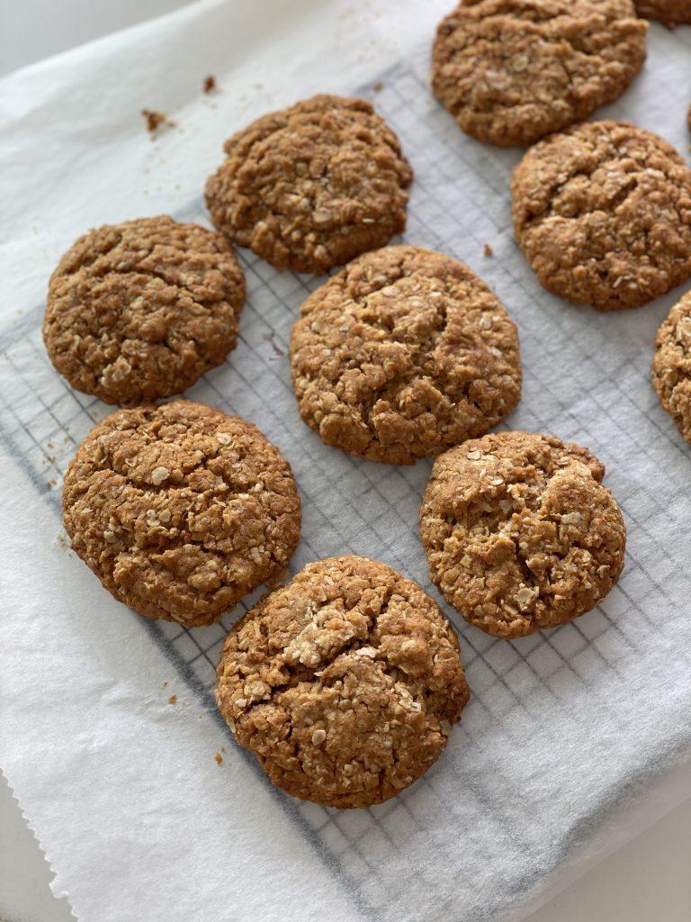 glutenfree anzac cookies glutenvrije anzac koekjes