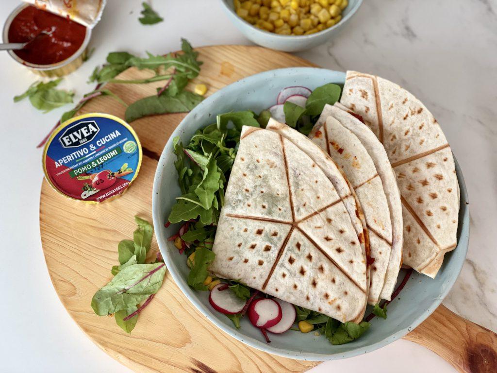 quesadilla met tonijn en elvea